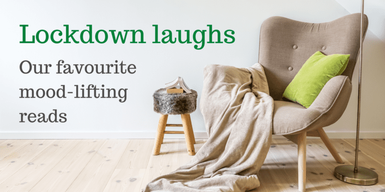 Blog header showing a cosy reading area with an armchair