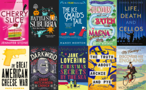 Covers of featured books
