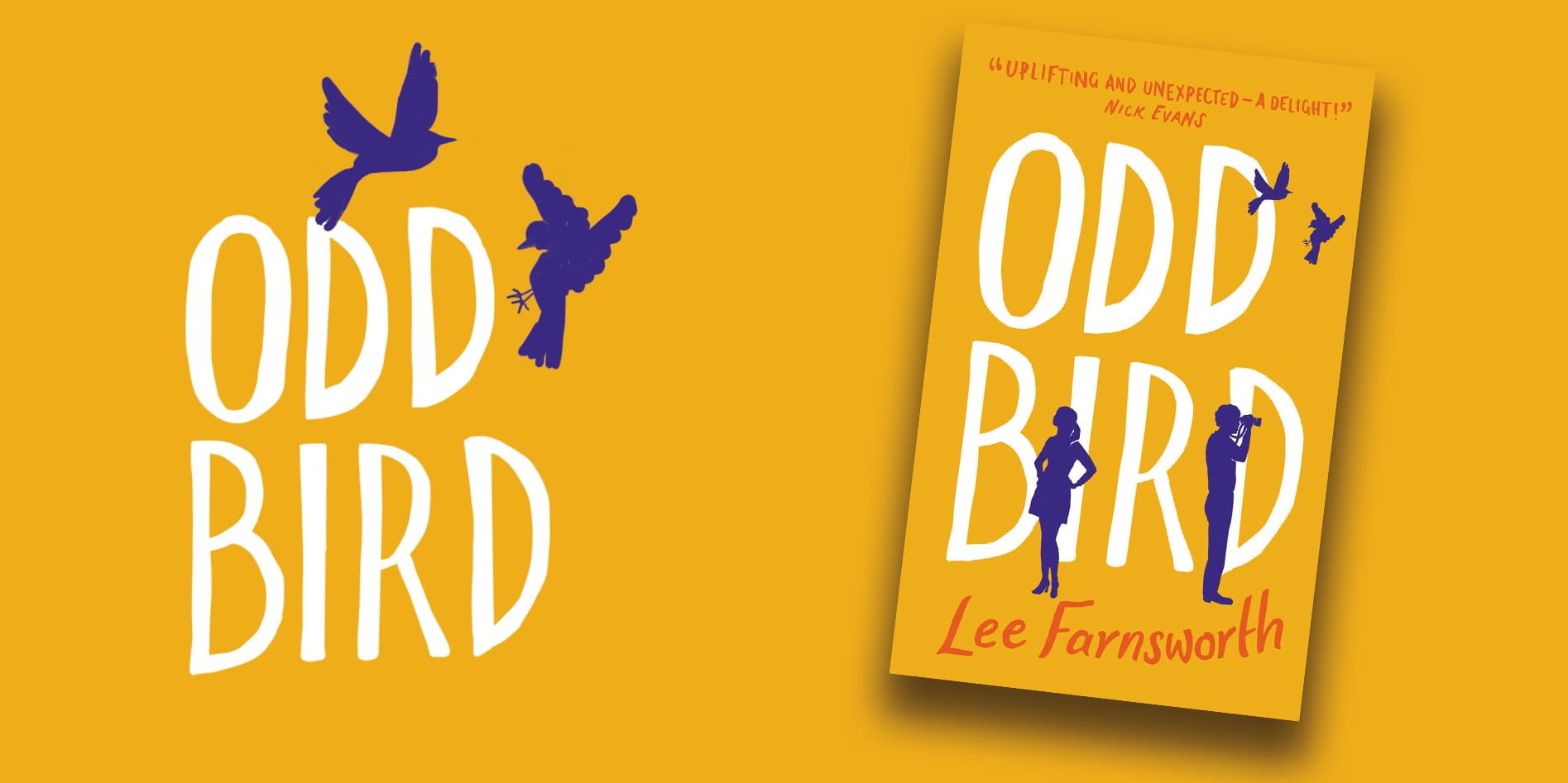 Lee Farnsworth on Writing 'Odd Bird' - Farrago Books